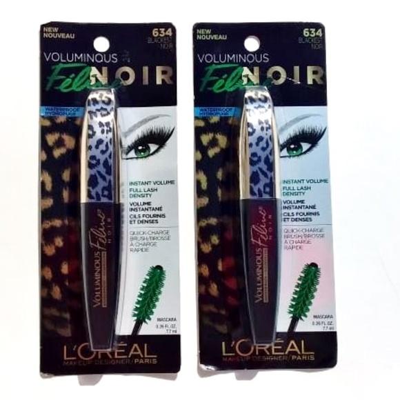 a4f21f78e0e L'Oreal Makeup | Loreal Voluminous Feline Waterproof Mascara 634 ...